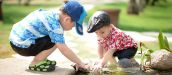 Why outdoor activity is important for young children